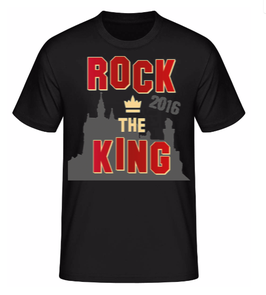 ROCK THE KING SHIRT 2016 - Männer