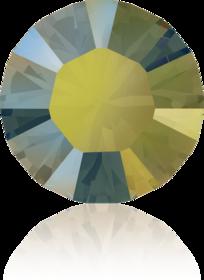 1122 18 mm Crystal (001) Iridescent green IRIG