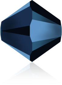 Crystal Metallic Blue2x MEBL2