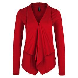 SPECIAL: Roter Cardigan von Tranquillo