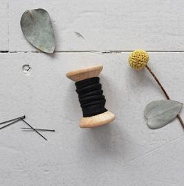 Paspel Atelier Brunette Crepe Black
