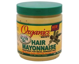 Africa's Best New improved Organic Hair Mayonnaise (426g)