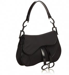 Dior Double Saddle Handtasche in Schwarz