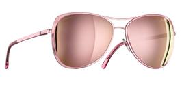 Chanel Sonnenbrille verspiegelt in Rosa