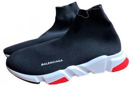Balenciaga Speed Trainer in dunklem Marineblau/ Rot