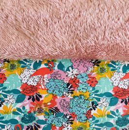muts sjaal flamingos kleuren