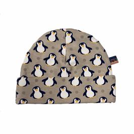 beanie pinguïn ecru
