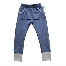 broek cozy blauw