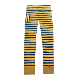 broek sweat oker stripes