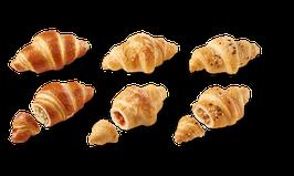Pikante Mini Croissant (kein Bio Produkt) - 18 Stk. für 9 Personen
