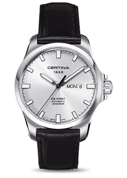Certina Herrenuhr DS First Day-Date Automatic C014.407.16.031.00