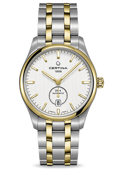 Certina Herrenuhr DS-4 Small Second Automatic C022.428.22.031.00