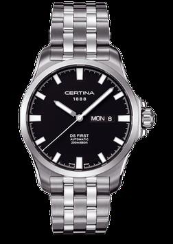 Certina Herrenuhr DS First Day-Date Automatic C014.407.11.051.00