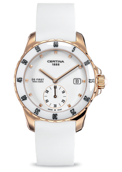 Certina DS First Lady Ceramic - 3 hands