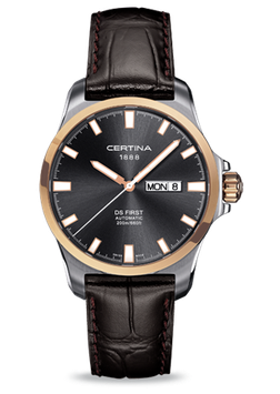 Certina Herrenuhr DS First Day-Date Automatic C014.407.26.081.00