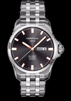 Certina Herrenuhr DS First Day-Date Automatic C014.407.11.081.01
