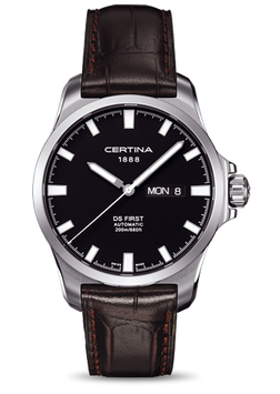 Certina Herrenuhr DS First Day-Date Automatic C014.407.16.051.00