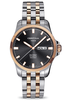 Certina Herrenuhr DS First Day-Date Automatic C014.407.22.081.00