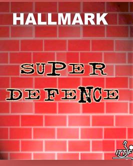 HALLMARK Super Defence (uralte Glattnoppe) rot OX / schwarz 1,0 mm - nur noch wenige Exemplare vorhanden!