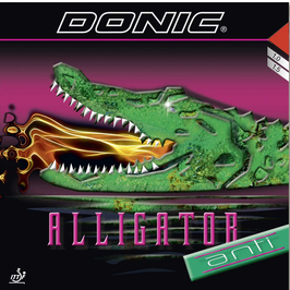 DONIC Alligator Anti (spezialbehandelt) rot 1,0 mm