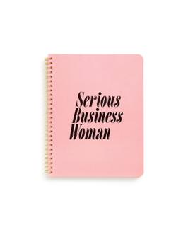 Notitieboek - Serious business woman