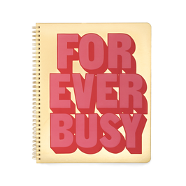 Notitieboek - LARGE - Forever Busy