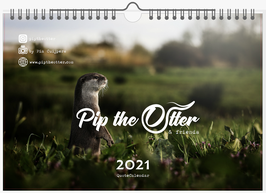 Pip the Otter & friends - 2021 QuoteCalendar