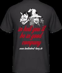 Teufel und Hexe T-Shirt