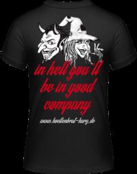 Teufel und Hexe Girlie Shirt