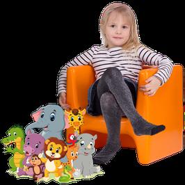 DADU Kinderhocker mit drei Sitzhöhen für Innen- und Außenbereich | wetterfester Wendehocker für Kinder | kippstabil, abwaschbar, UV-stabil in vielen schönen Farben
