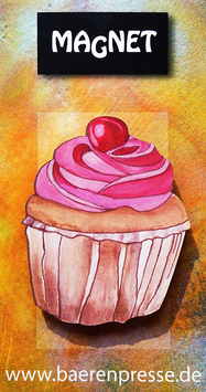 Cupcake- Magnet