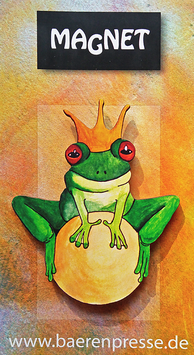 Frosch Freddy- Magnet
