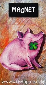 Glücksschwein- Magnet