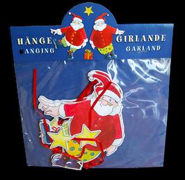 Weihnachtsmann Girlande