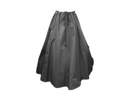 Hut und Robe Rock 100% Baumwolle schwarz