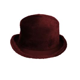 Hut und Robe Zylinder 100% Haar braun