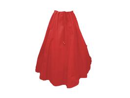 Hut und Robe Rock 100% Baumwolle rot