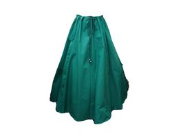 Hut und Robe Rock 100% Baumwolle grün