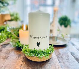 Bluke035 Kerze ⋆ Herzensmenschen ⋆ WER IST ES FÜR DICH?