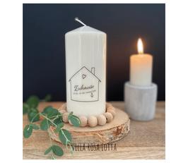 Bluke017 Kerze ⋆ Zuhause ist da, wo der Anker fällt ⋆
