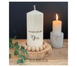 Bluke021 Kerze ⋆ Gib deinem Leben einen Gin ⋆
