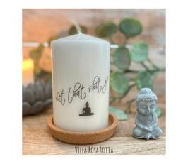 LIKE014 Kerze ⋆ let That shit go ⋆ Für Dich und Deine Freund+innen
