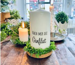 Bluke013 Kerze ⋆ Nach mir die Ginflut ⋆