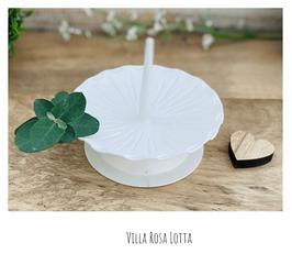 Kerzenständer *Blanche* für 40/4 cm für die langen schmalen Kommunionkerzen oder Taufkerzen