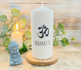 * Om Namasté* Kerze für Yoga & Meditation