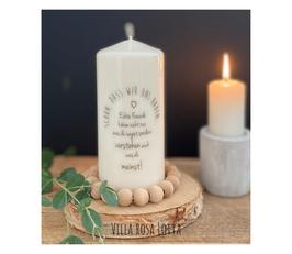 Bluke012 Kerze ⋆ schön, dass wir uns haben ⋆