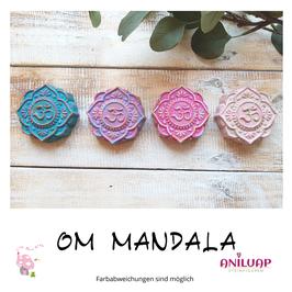 Steingussfiguren OM Mandala