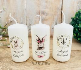 Kerzenset * Hasenfamilie 1 * Osterkerzenset Minis leuchtende Ostergrüße, wenn ihr mehrere Ostergrüße verschenken möchtet