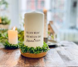 Bluke024 Kerze ⋆ Hol den Wein, wir müssen über Gefühle Reden ⋆