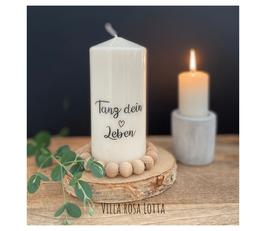 Bluke020 Kerze ⋆ Tanz Dein Leben ⋆